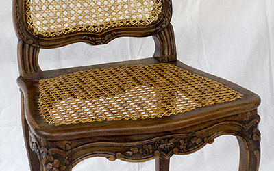 Chaises cannées Louis XV