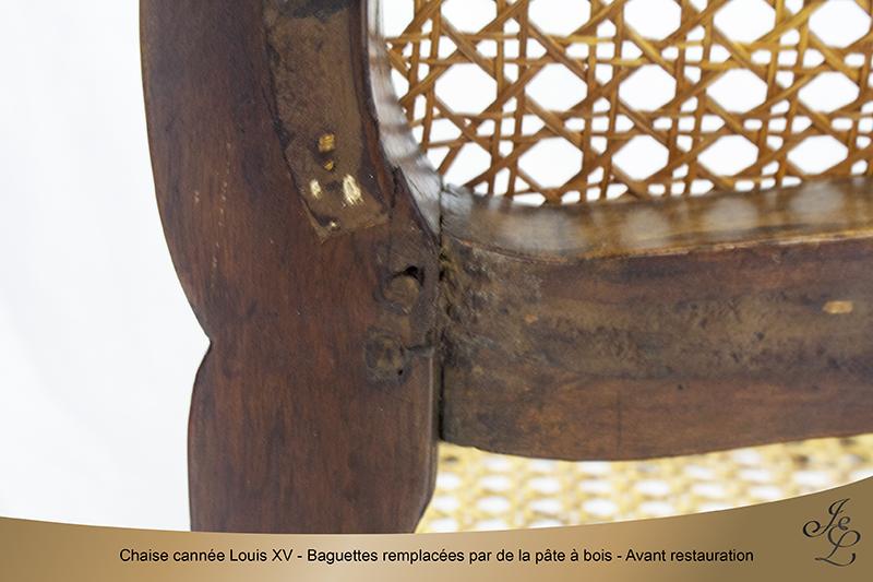 02-Chaise cannée Louis XV lacunes baguettes ok