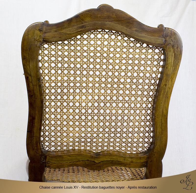 07-Chaise cannée Louis XV restitutions baguettes