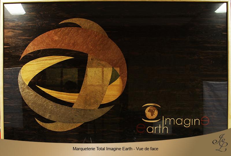 Marqueterie Total Imagine Earth - Vue de face