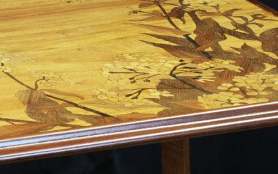 Table à thé Art Nouveau